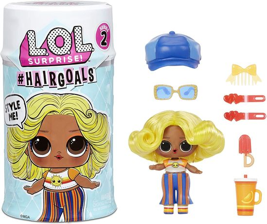 lol Surprise Hairgoals Series 2 ЛОЛ Модный стиль Оригинал MGA 2 волна