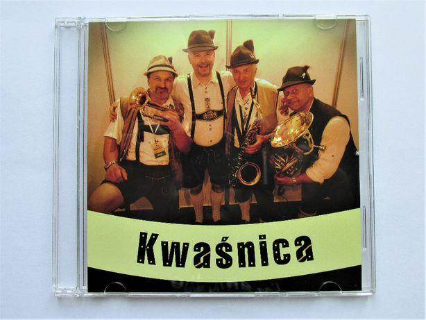 Płyta CD 2018 zespołu Kwaśnica Bavarian Band