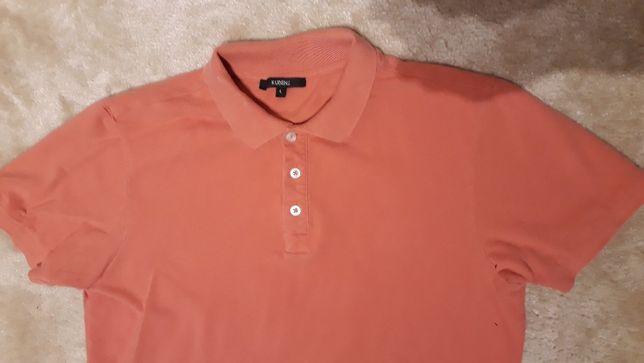 3 szt koszulka koszulki polo firmy kubenz rozm L męskie 100% bawełna