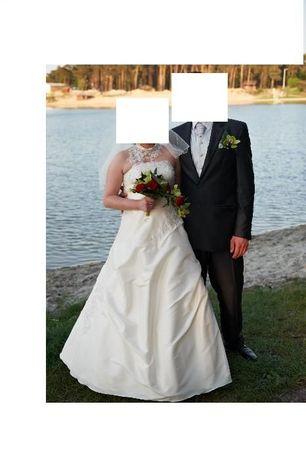 suknia sukienka ślubna ciążowa