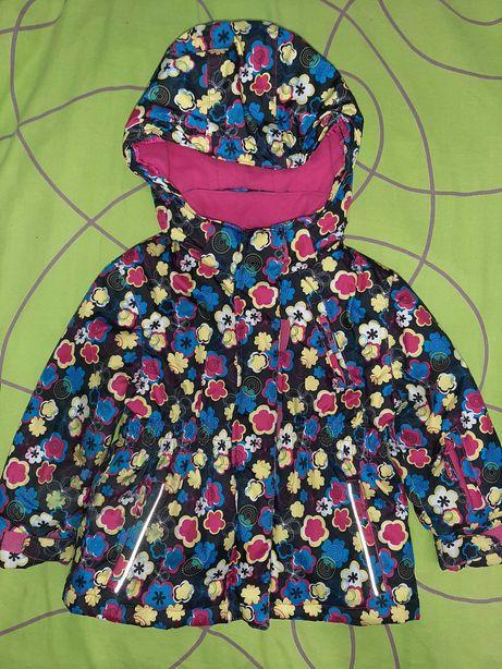 Зимняя термо куртка для девочки +  подарок