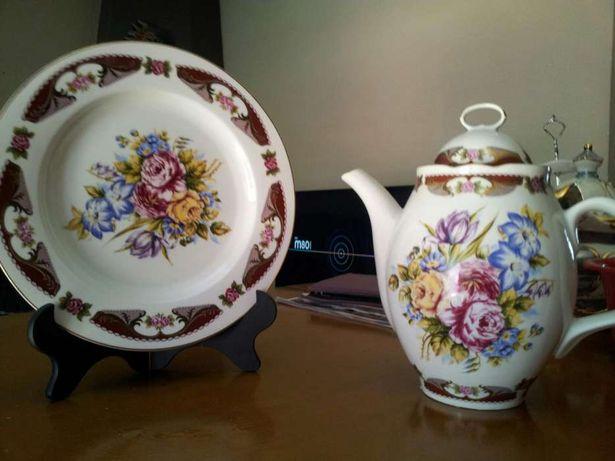 Conjunto de decoração em porcelana