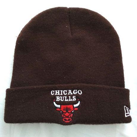 коричневая шапка chicago bulls