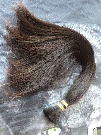 Волосы натуральные славянские детские 45см срез для наращивания