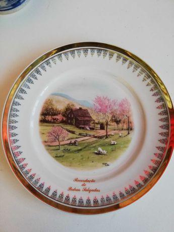 Prato decorativo porcelanas de Portugal