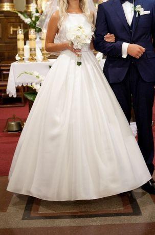 "Suknia ślubna typu ""princessa"" rozmiar S"