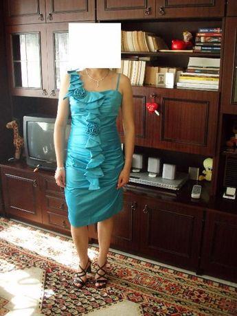 Sukienka niebieska Pretty Grill