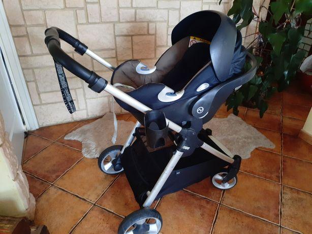 Wózek Mamas&Papas Armadillo Flip XT2 +fotelik Cybex Aton Q z baząQ i-s