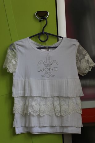 Блузочка MONE для модницы, 128 размер
