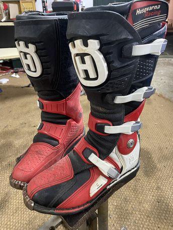 Botas motocross Huskvarna tamanho 44