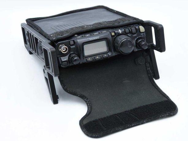 Suportes laterais em 3D para rádio YAESU FT817 FT818