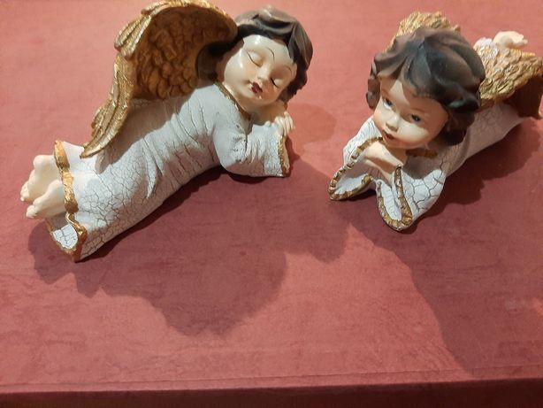 piękne figurki aniołki