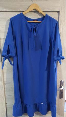 Sukienka chabrowa 50