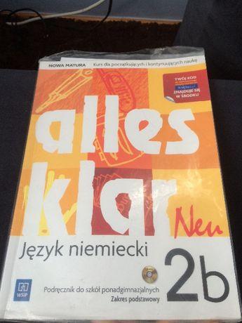 Alles klar Neu 2b podrecznik języka niemieckiego
