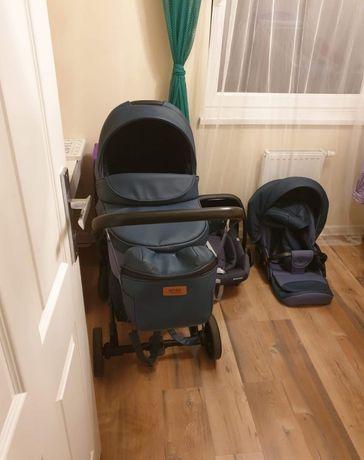 Wózek dziecięcy 2w1 ANEX SPORT + fotelik samochodowy MAXI COSI