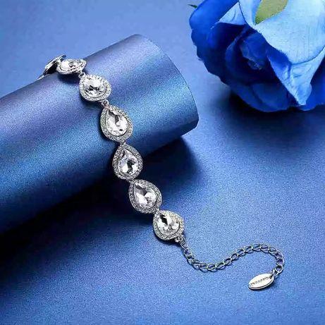 Nowa bransoletka ślubna, studniówkowa, na wesele