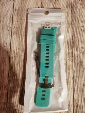 Huawei watch fit pasek miętowy. Nowy