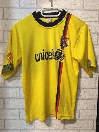 Żółta Bluzka na krótki rękaw bluzeczka t-shirt streetwear unicef