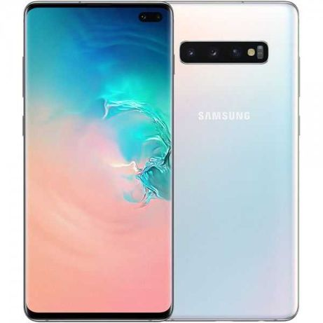 Samsung Galaxy S10+ 8GB/128GB SM-G975 Prism White - Usado - LOJA