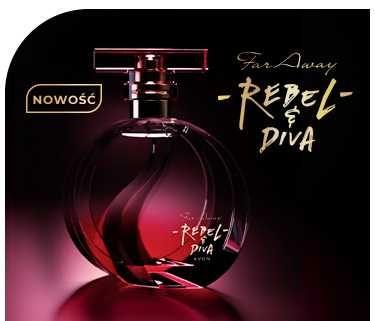 Perfumy far  away REBEL&DIVA AVON 50ml