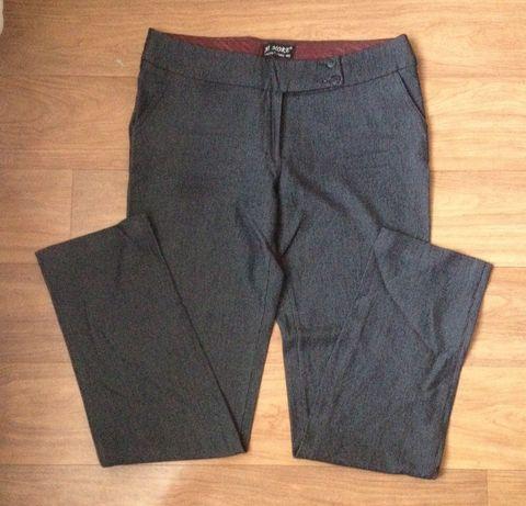 Брюки штаны классические серые