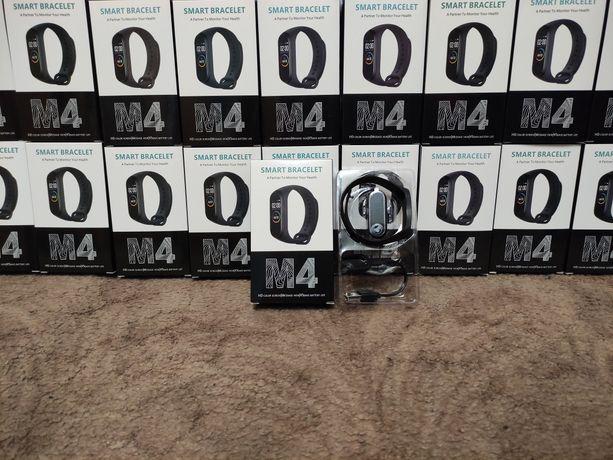 Умный фитнес браслет часы с пульсометром Smart band M4,Новые!!! Опт!!!