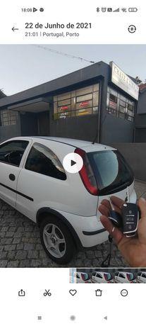Programação de chave Opel