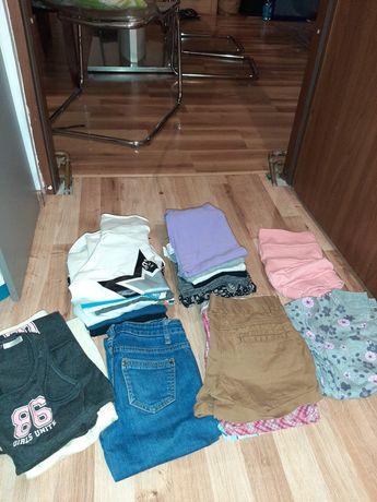 Ubrania dziewczęce rozm 134