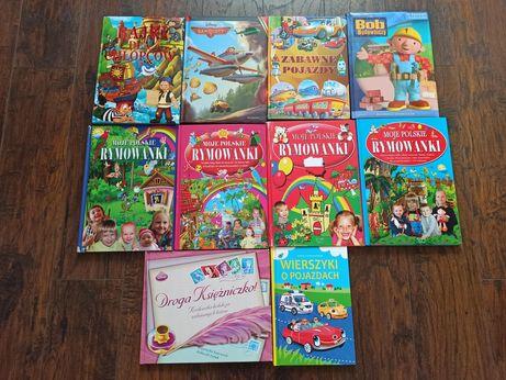 Książki dla dzieci Moje Polskie Rymowanki, Bajki, Bob, Samoloty