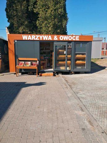 Pawilon handlowy sklep warzywniak