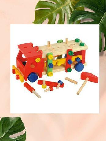 Конструктор Світ дерев'яних іграшок Машина (Д033)