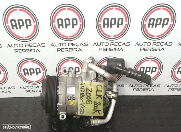 Compressor ar condicionado Mercedes CLK 200K de 2005, referência 447180-4450