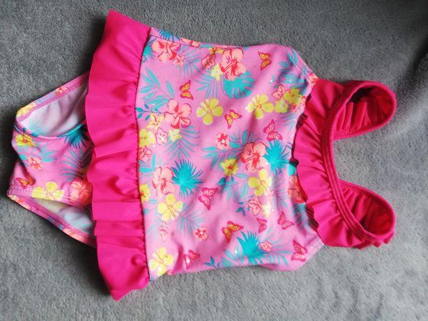 Różowy strój kąpielowy dla dziewczynki 86