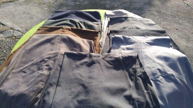 14 calças clássicas - homem tam 58