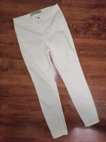 Штаны леггенсы лосины брюки белые размер Л- ХЛ(14)