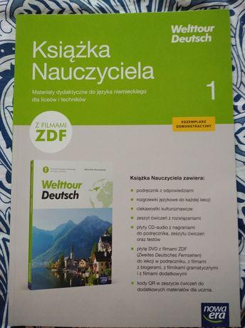 Welttour Deutsch 1 książka nauczyciela