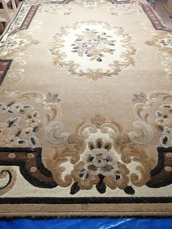Dywan z pięknym wzorem