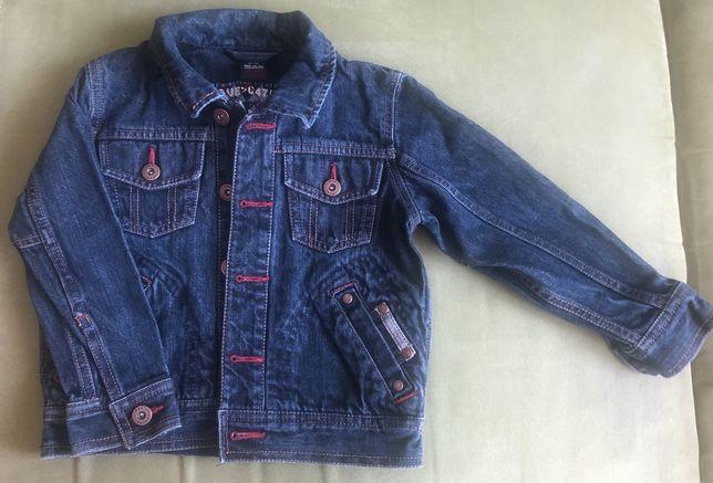 Джинсовый пиджак Next 3-4 года