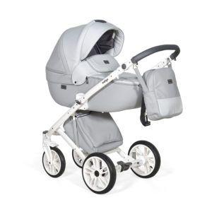 Wózek dziecięcy 3w1 eco skóra