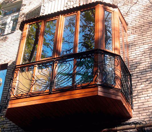 Балкон под ключ в Днепропетровске.Акция! Утепление в подарок!