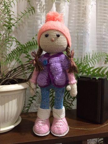 Куколка амігурумі