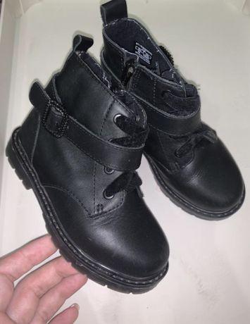 Ботинки деми zara на девочку