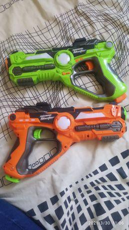 Интерактивный пистолет бластер для игры в Laser Tag Blasters