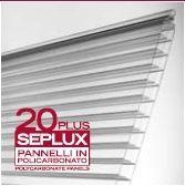 Panele - poliwęglan komorowy 20 mm SEPLUX PLUS na naświetla, fasady