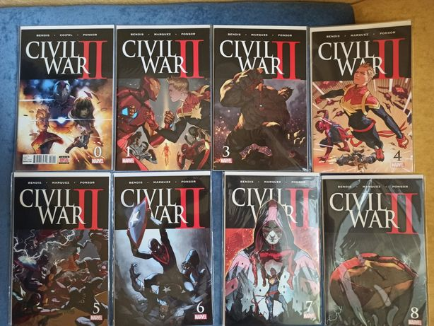 Комиксы Civil War   