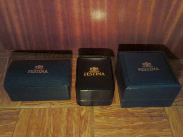 caixa relogio tissot, pulsar, festina