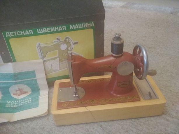 Швейная машинка детская СССР