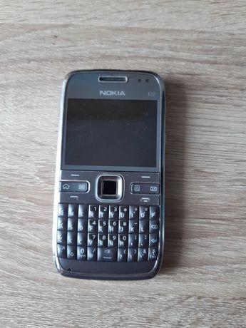 Nokia E72 srebrna Made in Finland Sprawny bez simlock pl menu