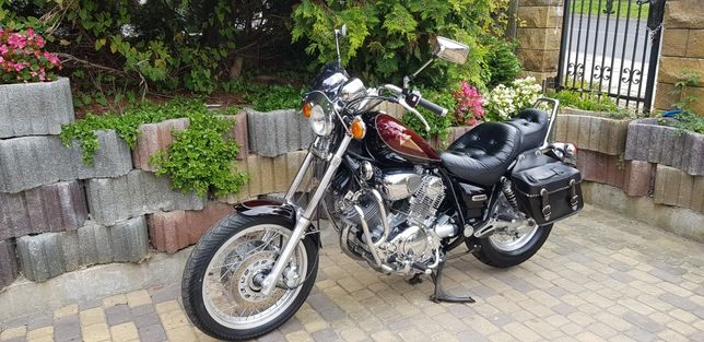 Yamaha Virago xv 750 Silvertail z Niemiec tylko 15 tyś km