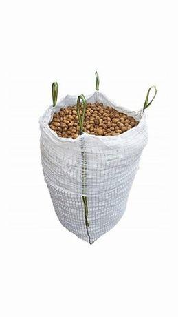 Worki Wentylowane na ziemniaki cebule 85x95x165 cm